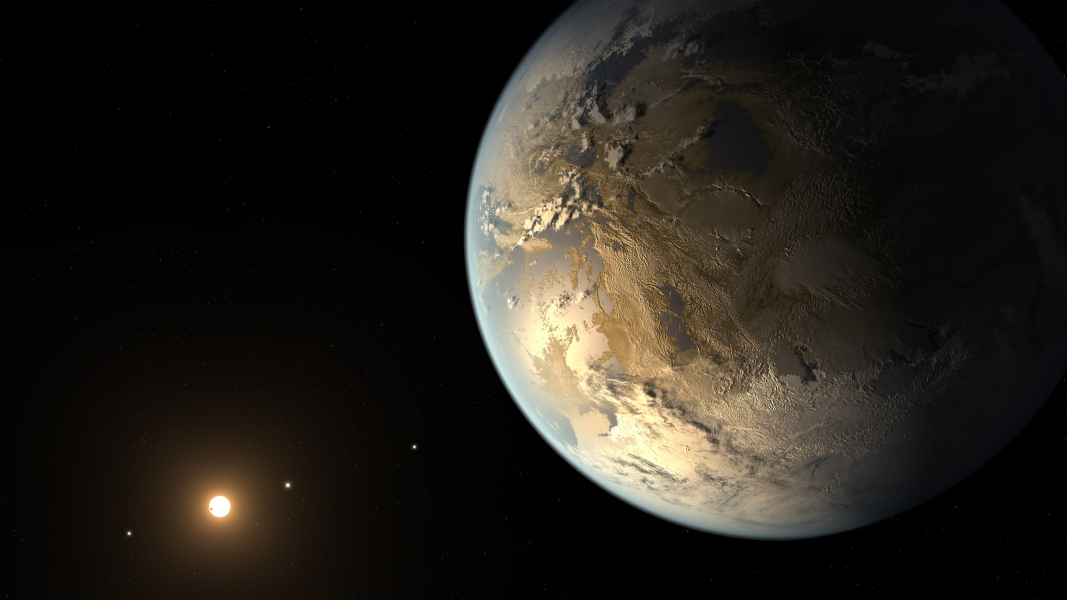 From Astronomy Picture of the Day — Kepler-186f