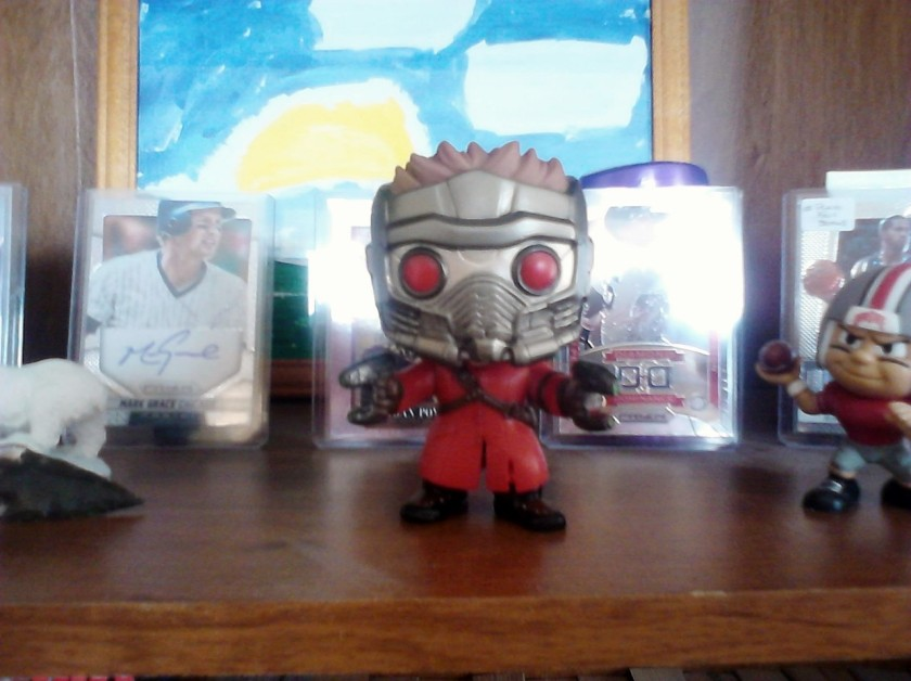 Star-Lord unboxed.