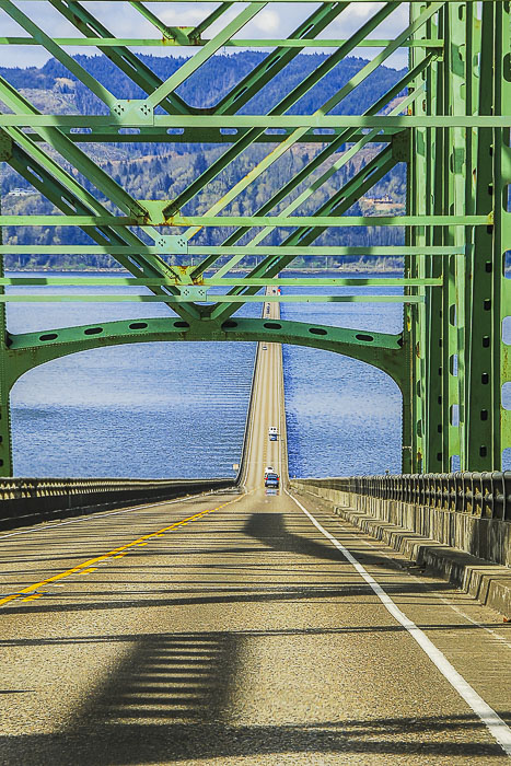 Astoria-Megler Bridge, Astoria, Oregon.