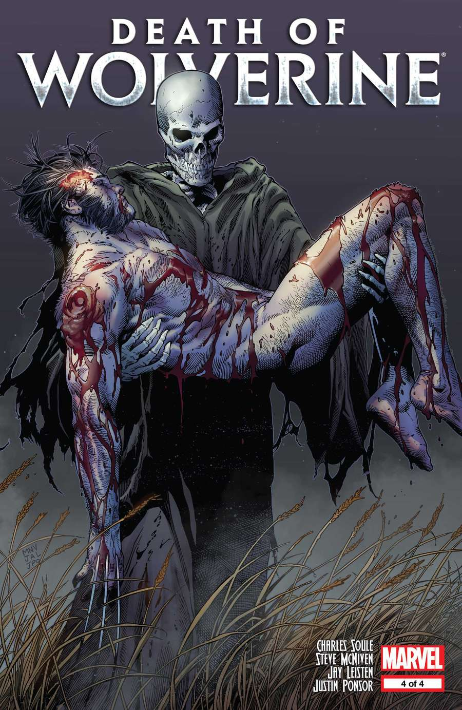 The Death of Wolverine #4 (ComicsReview)