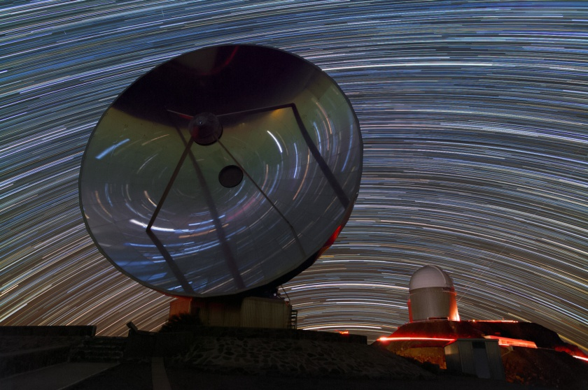 Star Trails at La Silla
