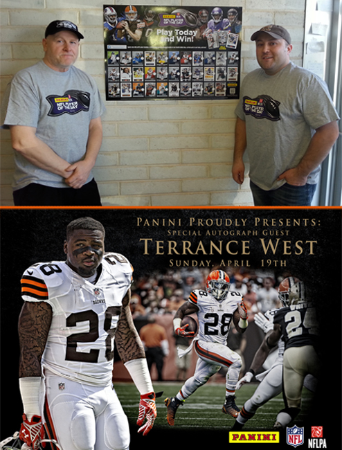 Panini America 2014 NFL Player of the Day Terrance West