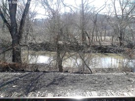 A view of the Hocking River.