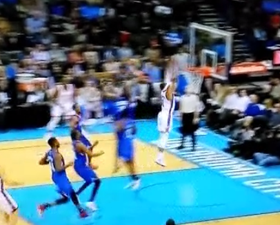 Russell Westbrook goes coast-to-coast, dunks in first game back sinceinjury