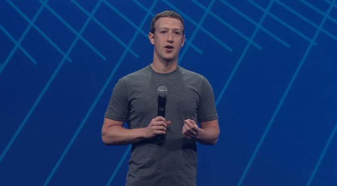 Mark Zuckerberg F8 2015