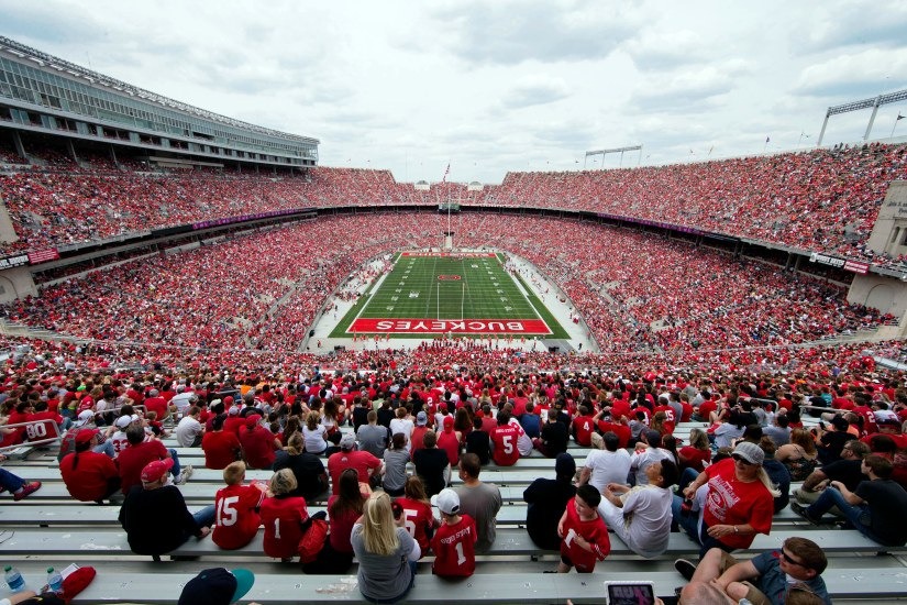 Reigning champ Ohio State draws spring game record 99,391fans