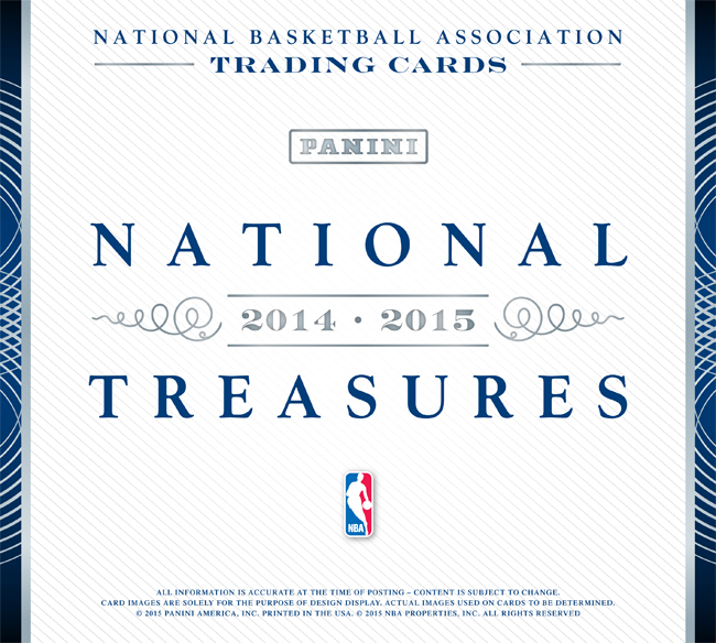 Panini America 2014-15 National Treasures Basketball Main