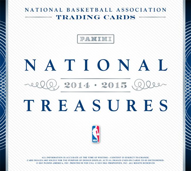 Panini America 2014-15 National Treasures Basketball Main