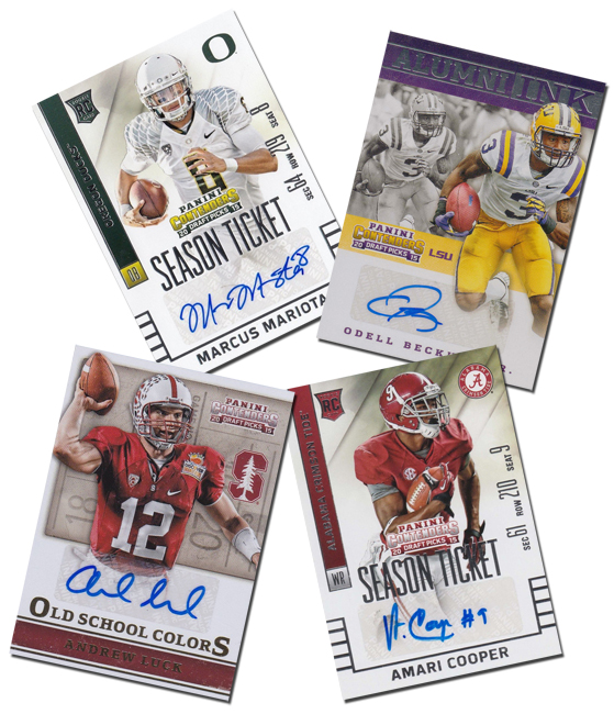 Panini America 2015 Contenders Draft Picks Football SPs Main