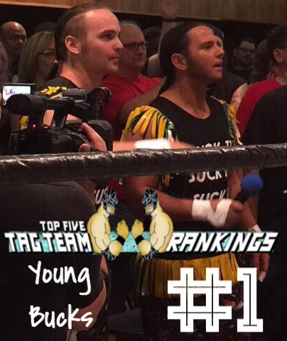 Tag Team Top 5 for the Week of June 29th, 2015
