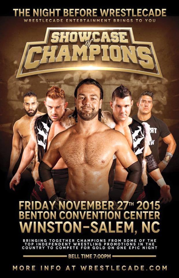 11/27 WrestleCade 'Showcase of Champions' Results Winston-Salem,NC