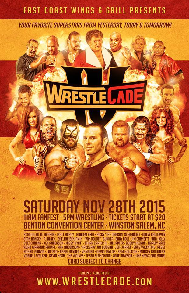 11/28 WrestleCade IV-Night 2 Results Winston-Salem,NC
